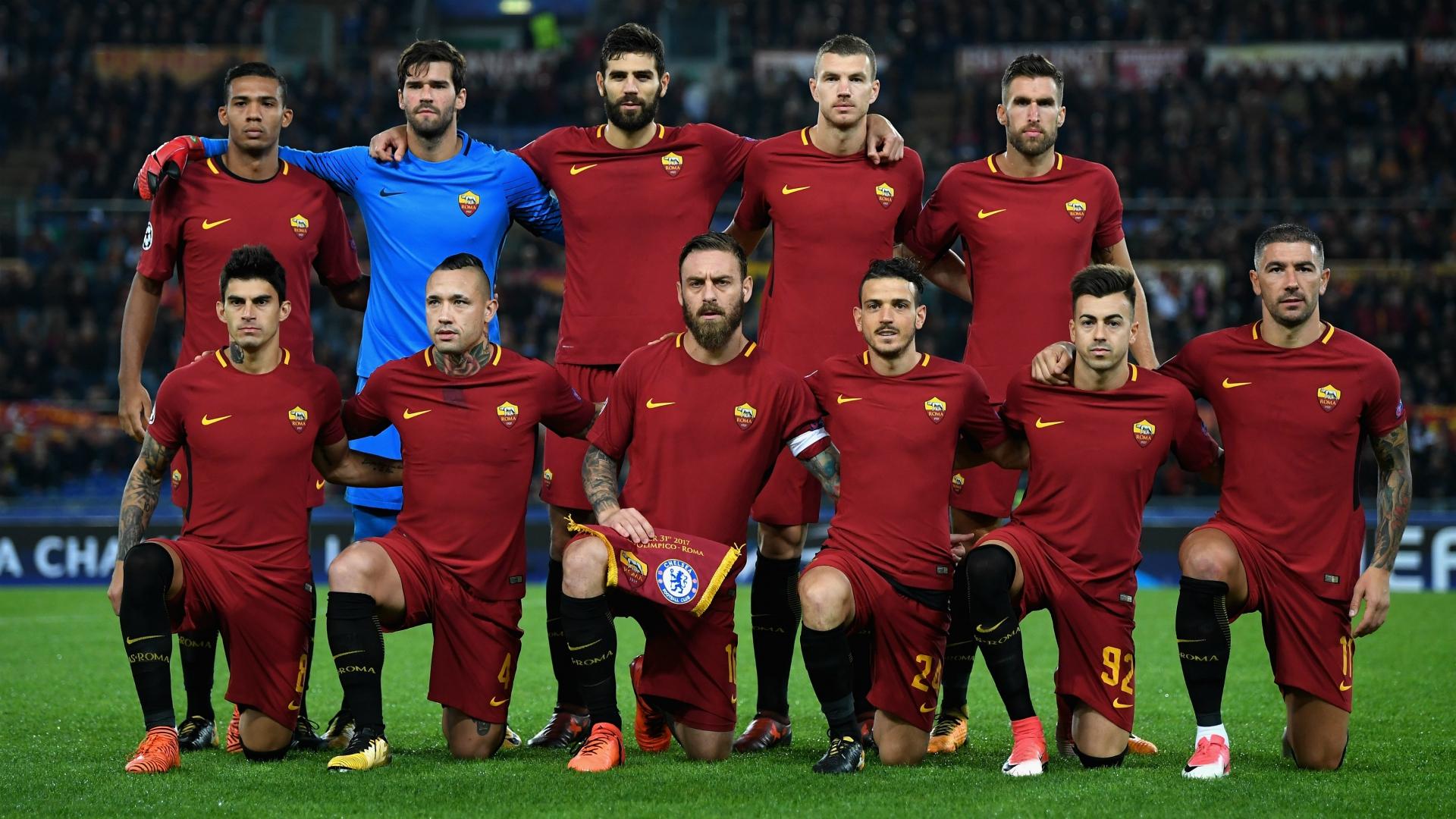 Roma lineups Roma Chelsea UEFA Champions League 10312017