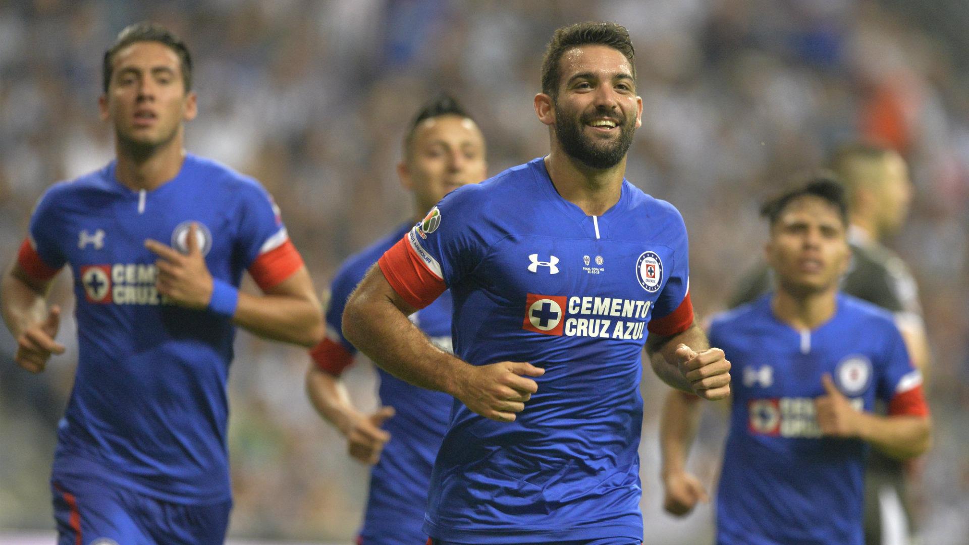 Martin Cauteruccio Cruz Azul Liga MX Apertura 2018