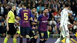 Lionel Messi Sergio Ramos Real Madrid Barcelona LaLiga 03022019