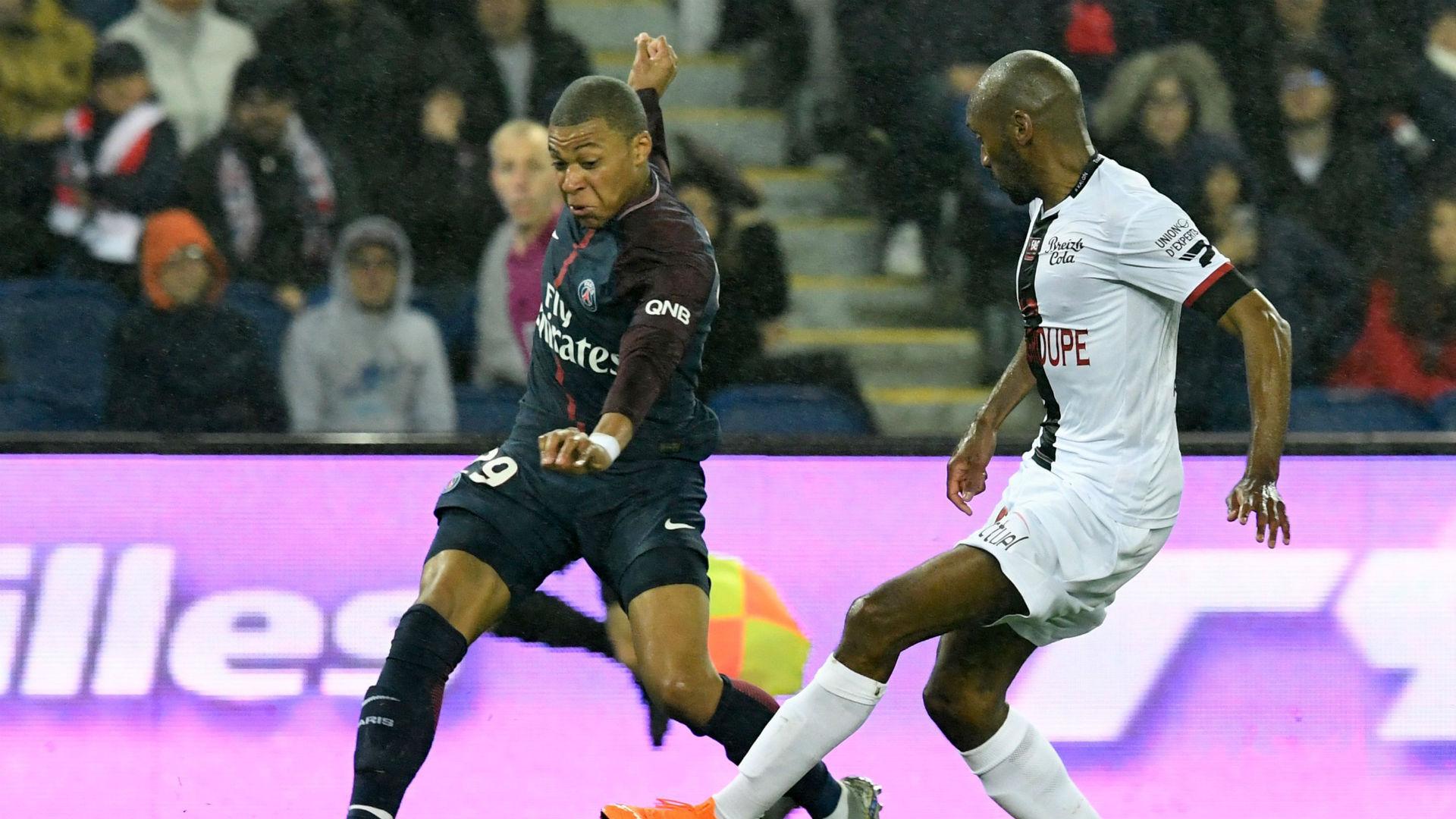 Kylian Mbappe PSG Guingamp Ligue 1 29042018