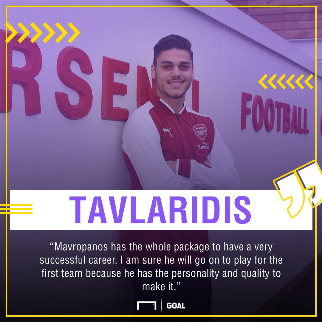 Konstantinos Mavropanos: Arsenal sign Greek centre-back from PAS Giannina