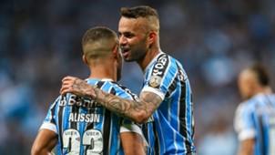 Luan Alisson Grêmio Atlético Tucumán Copa Libertadores 02102018