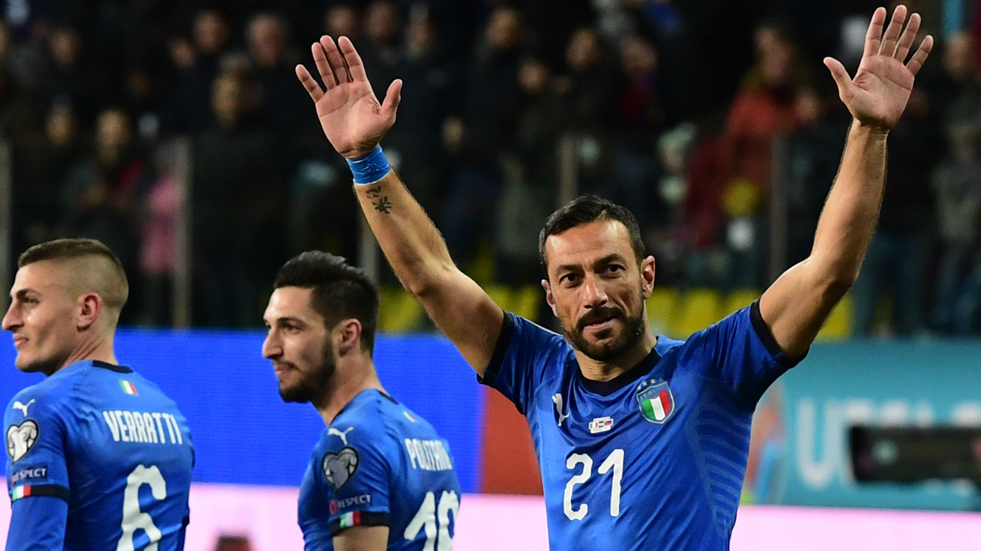 Quagliarella Becomes Oldest Goalscorer In Italy's History