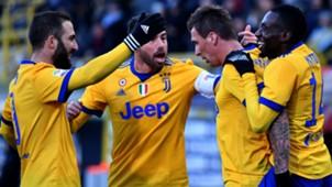 Juventus celebrating Bologna Juventus Serie A