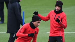 Neymar Kylian Mbappe PSG 27112018