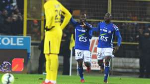 Stephane Bahoken Strasbourg PSG Ligue 1 02122017