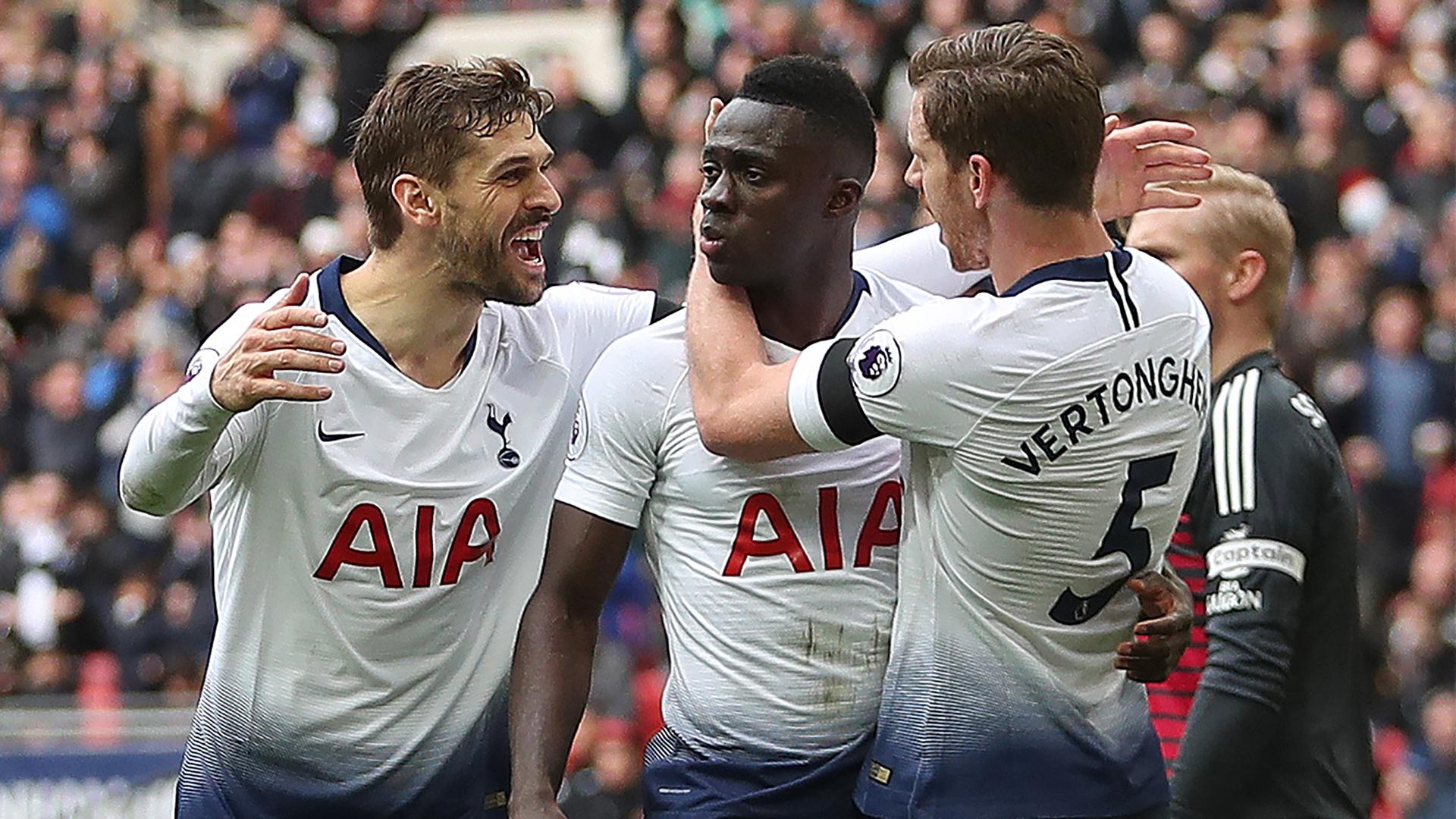 Llorente Sanchez Vertonghen Tottenham 10022019