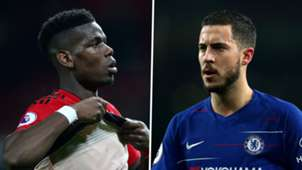 Paul Pogba, Eden Hazard