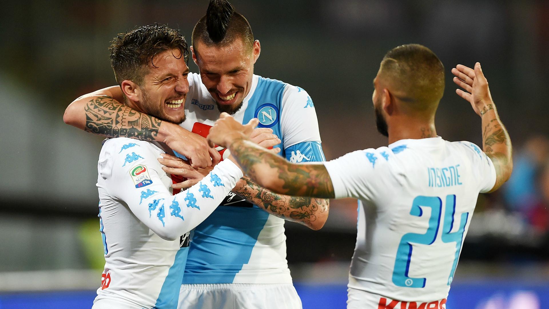 Il Manchester United inguaia il Napoli: azzurri in 3ª fascia in Champions