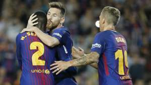 Lionel Messi Semedo Deulofeu Barcelona Eibar LaLiga