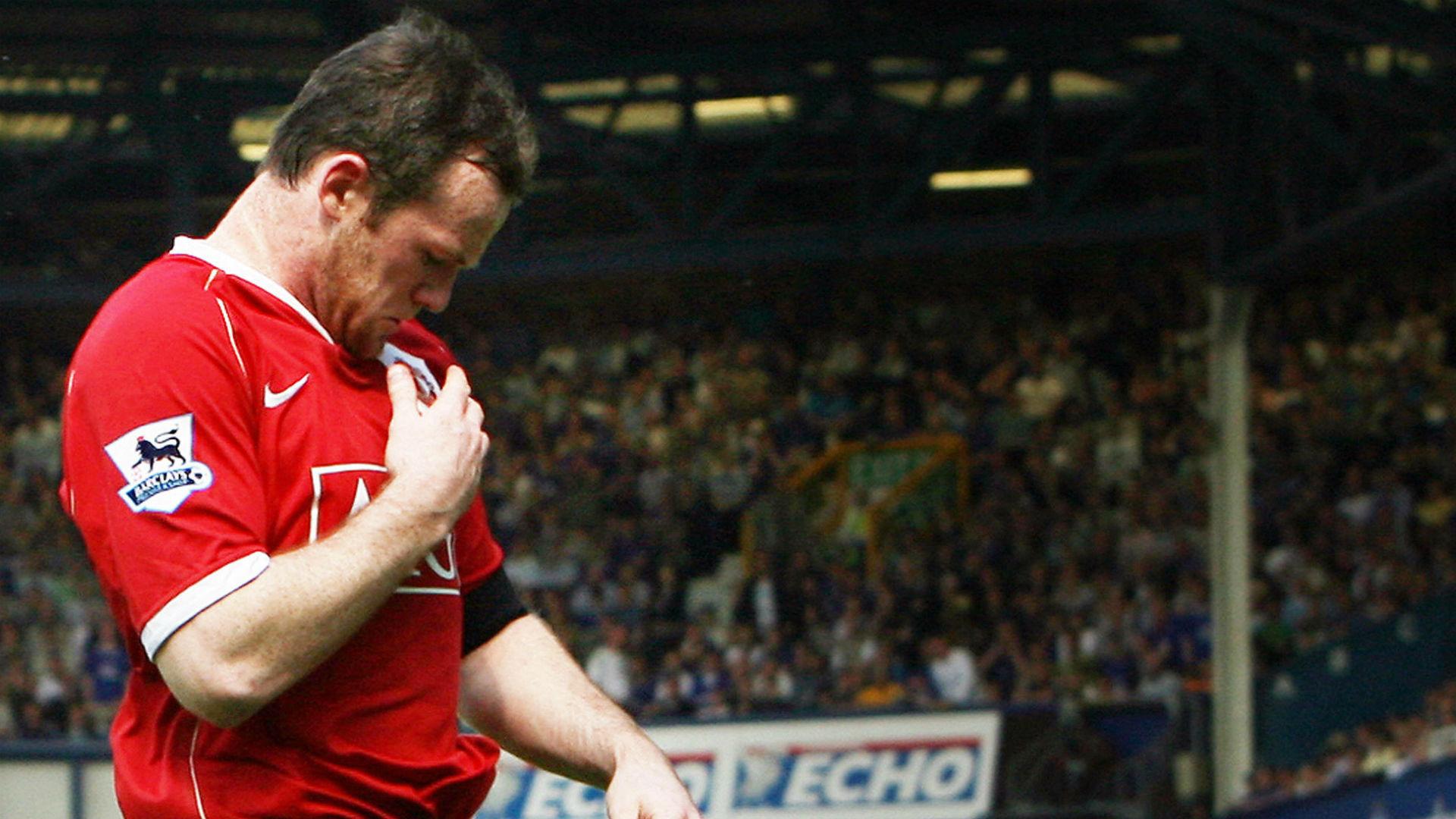Wayne Rooney Manchester United vs Everton 2007