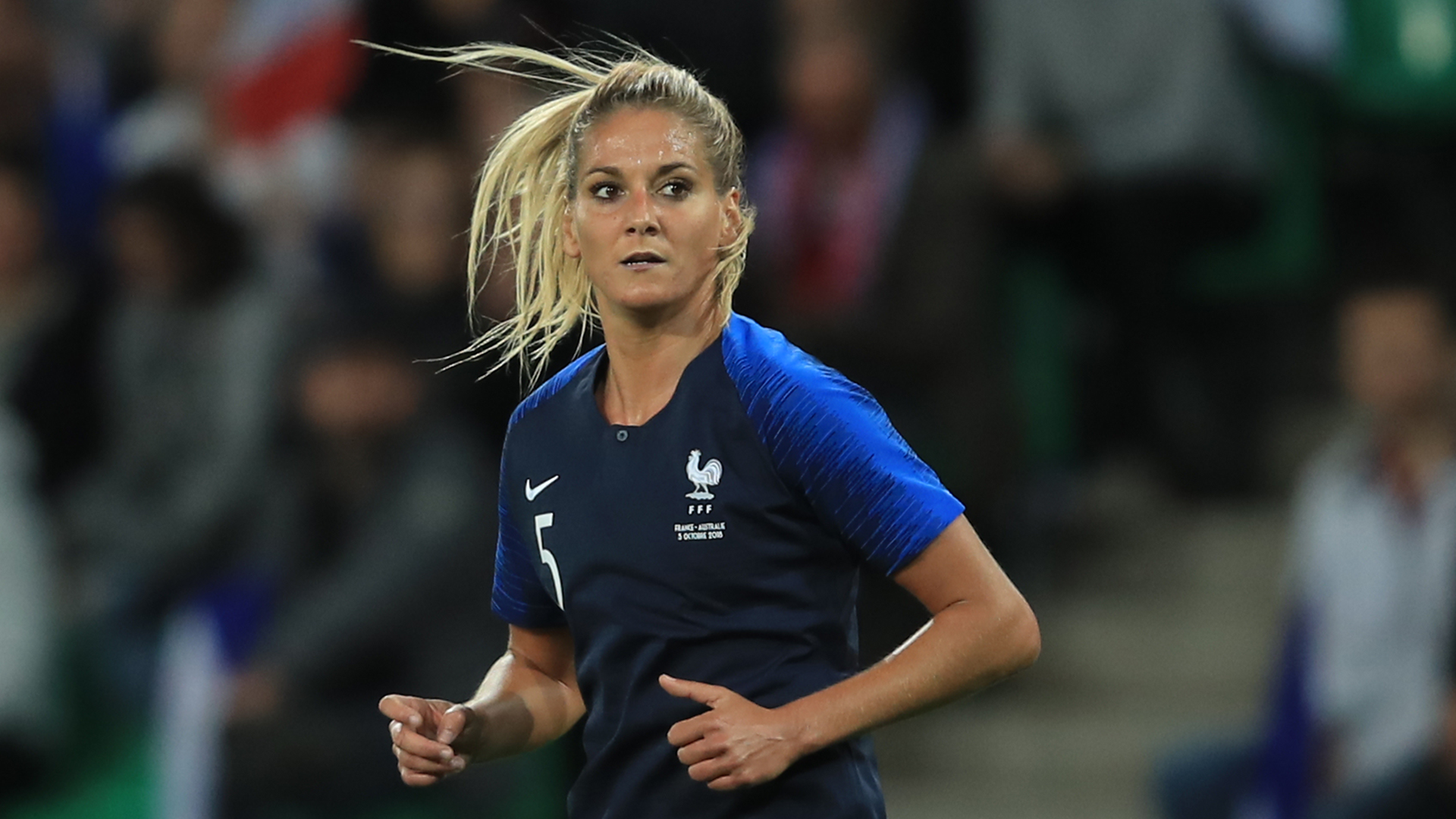 Julie Debever France women's team 2018