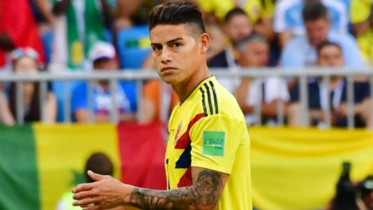 James Rodriguez Colombia Senegal WC Russia 28062018