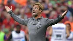 Jurgen Klopp Liverpool Napoli 070818