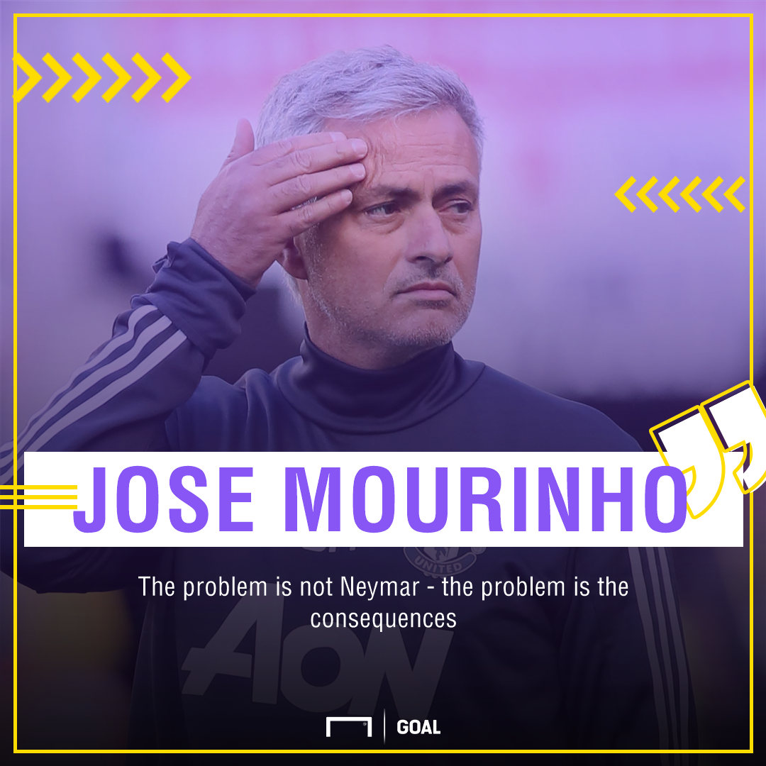 Mourinho playing surface Neymar