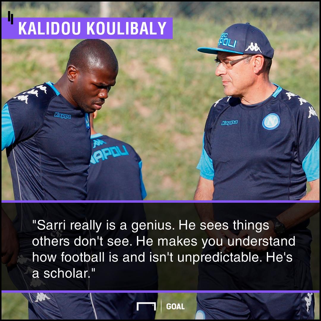 Kalidou Koulibaly Sarri PS