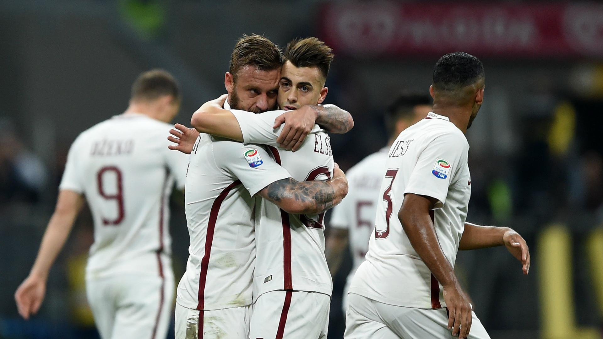 Stephan El Shaarawy Milan Roma Serie A 07052017