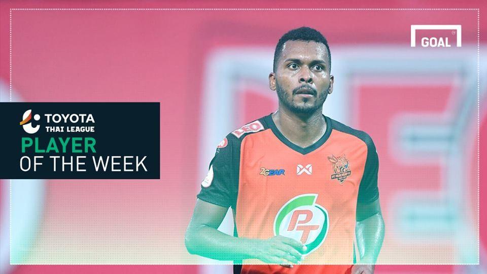 ผลการค้นหารูปภาพสำหรับ Toyota Thai League Player of the Week 6 : โจนาธาน รีส