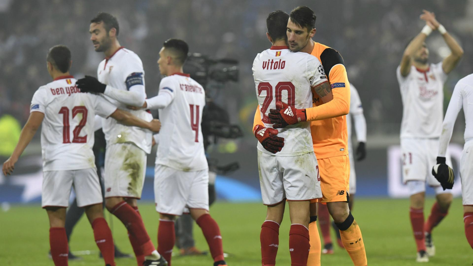 Sevilla Lyon Champions League 071216