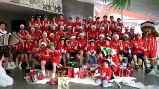 Vidal y James Navidad