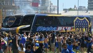 Boca Juniors bus