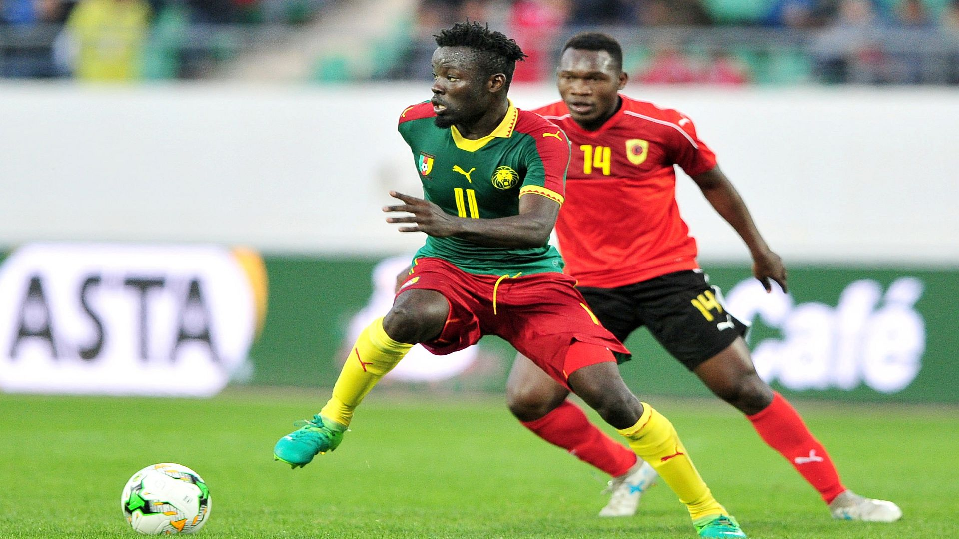 Angola edge Cameroon in the African Nations Championship