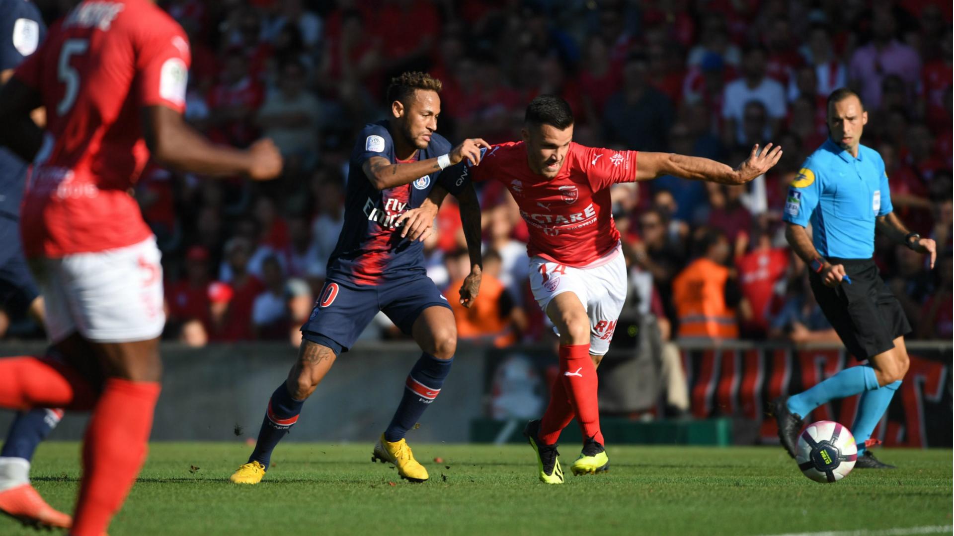 Antonin Bobichon Neymar Nimes PSG 01092018