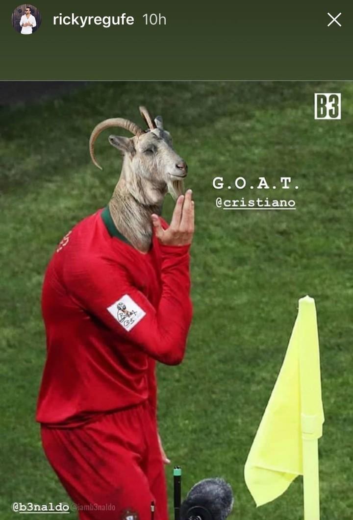 GOAT Cristiano Ronaldo
