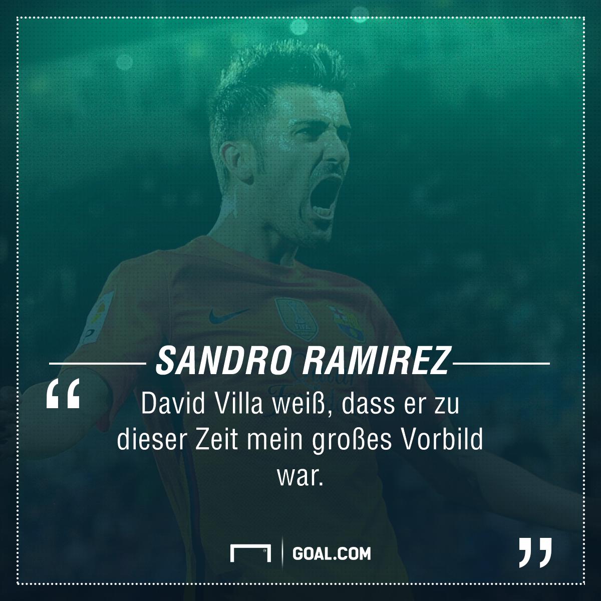 GFX Sandro Ramirez David Villa