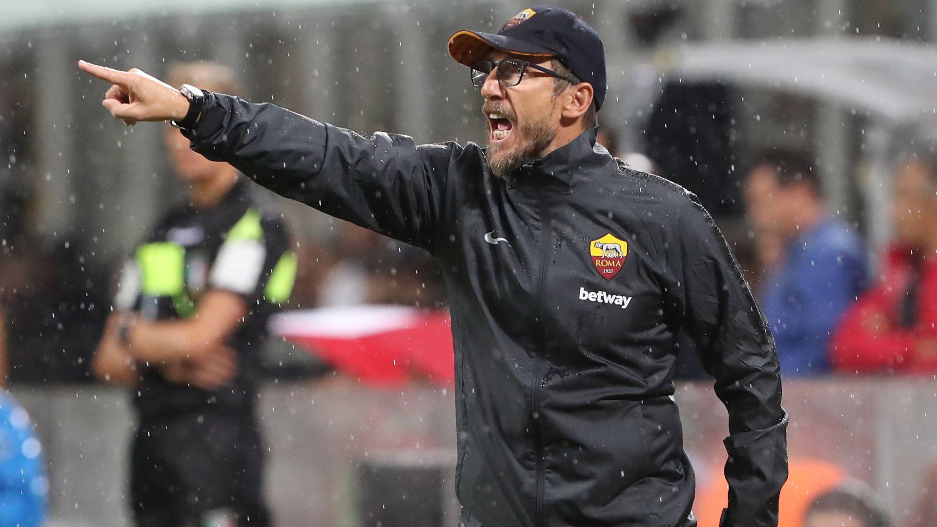 Di Francesco Roma Milan Serie A