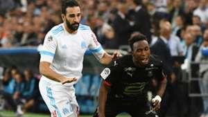Adil Rami Firmin Mubele Marseille Rennes Ligue 1 10092017