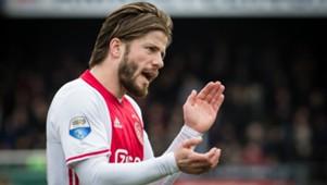 Lasse Schone, Ajax, Eredivisie, 03192017
