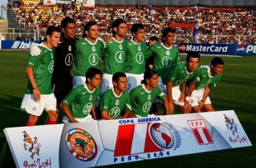 México Copa América 2004