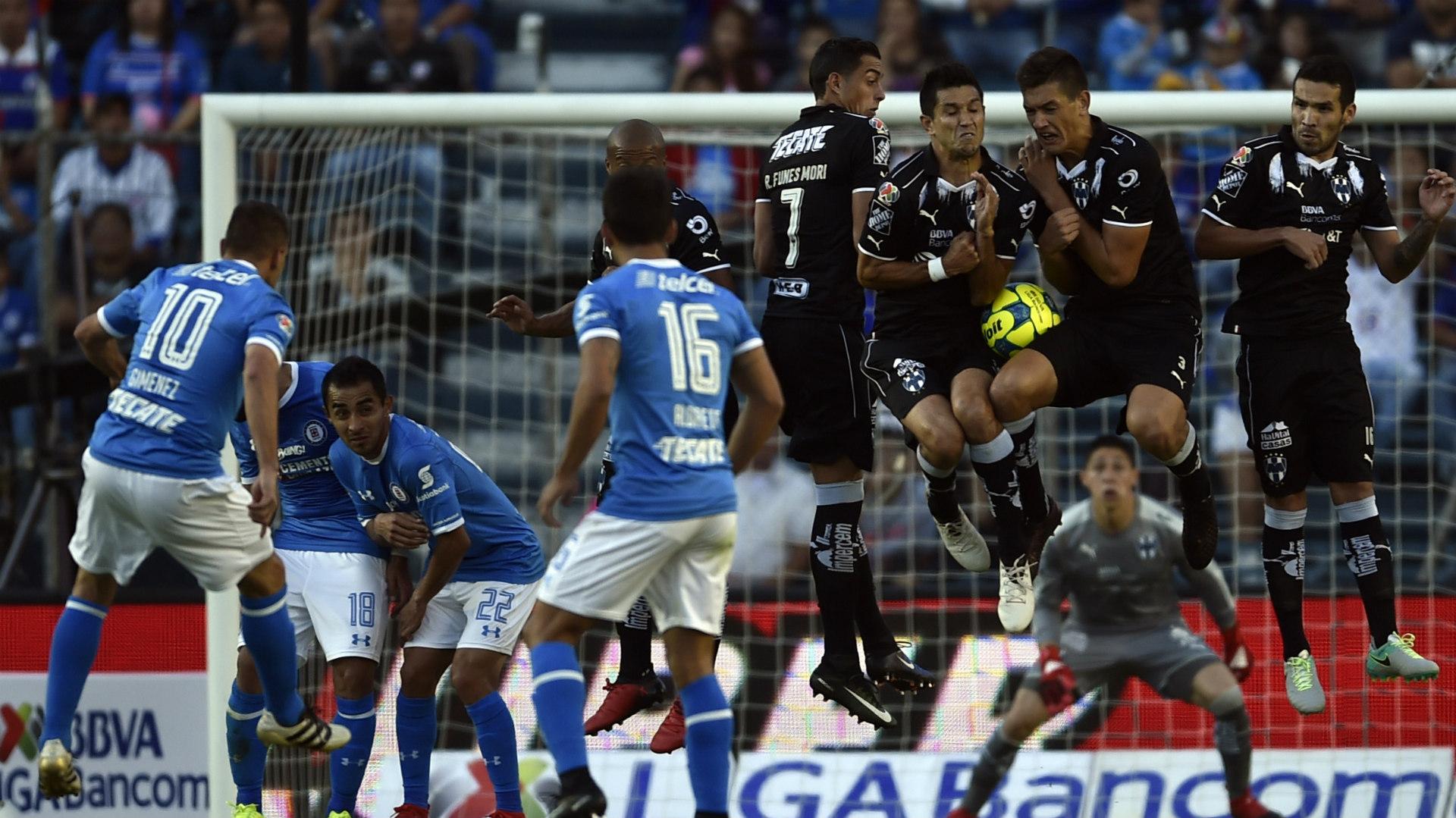 Cruz Azul Monterrey Liga MX