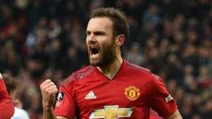 Juan Mata Manchester United 2018-19
