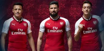 Arsenal heimtrikot