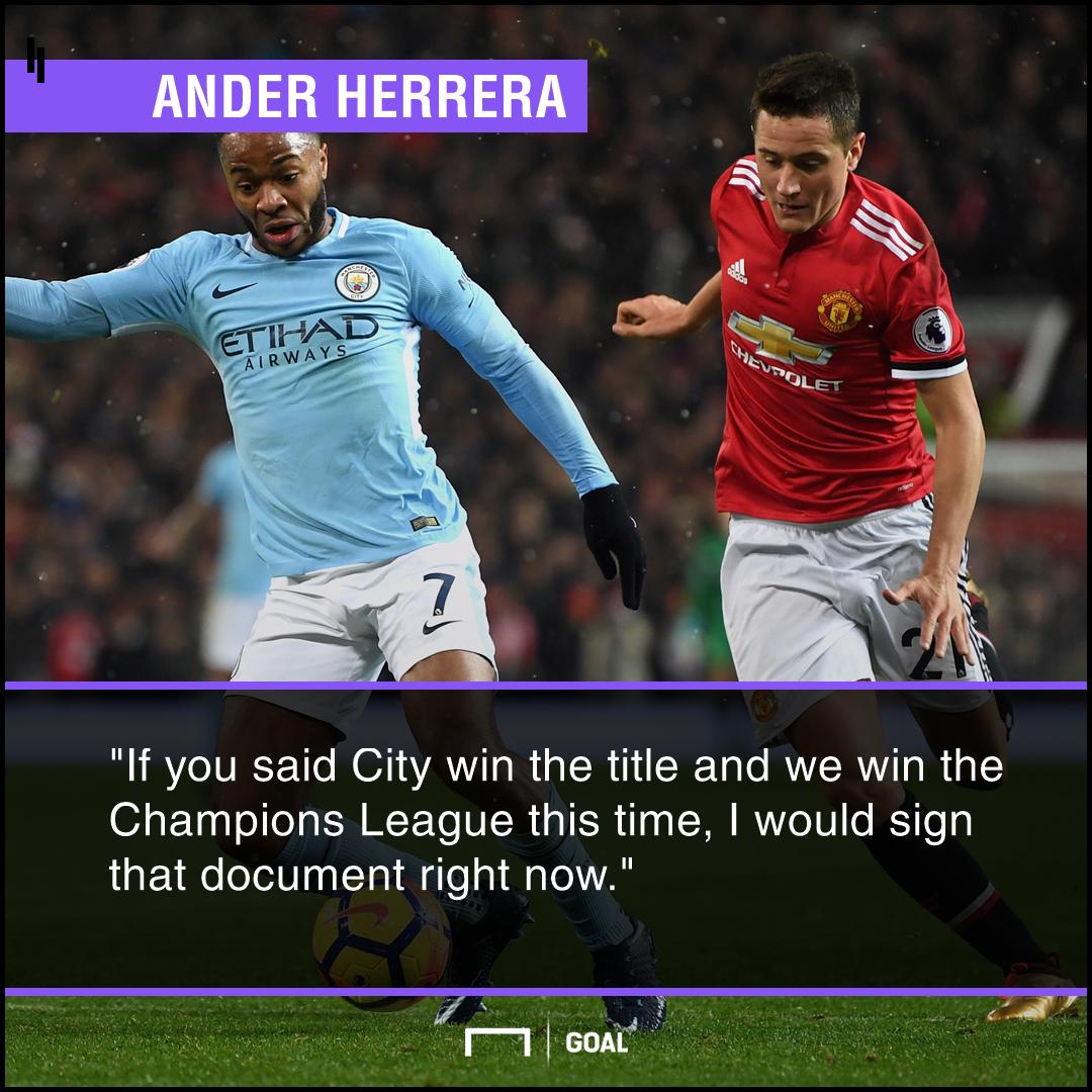 Ander Herrera Premier League Champions League trade