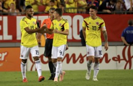 Colombia vs  EE.UU Amistoso 2018