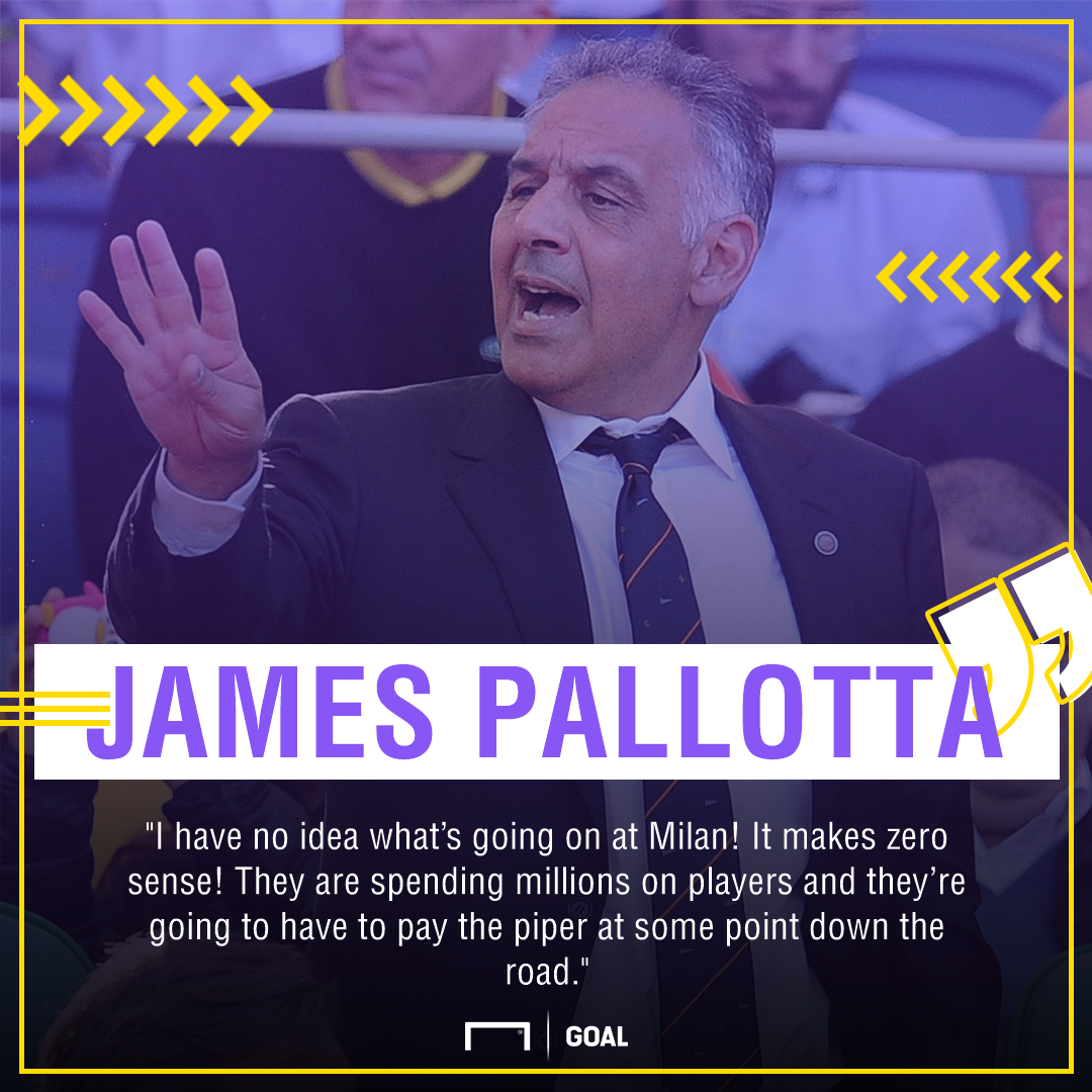 James Pallotta AC Milan PS