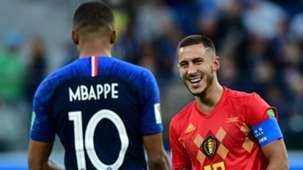 2018-12-05 Kylian Mbappe Eden Hazard