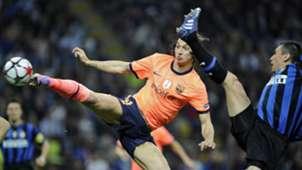 Ibrahimovic Barcelona Inter Milan