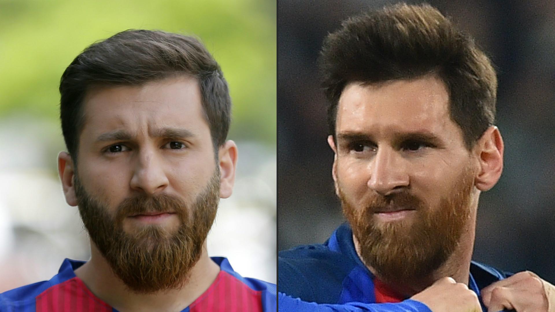 Reza Parastesh Lionel Messi