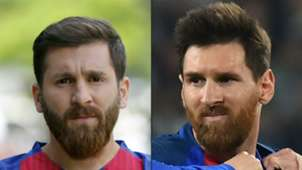 Reza Parastesh Lionel Messi