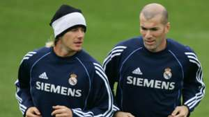 David Beckham Zinedine Zidane