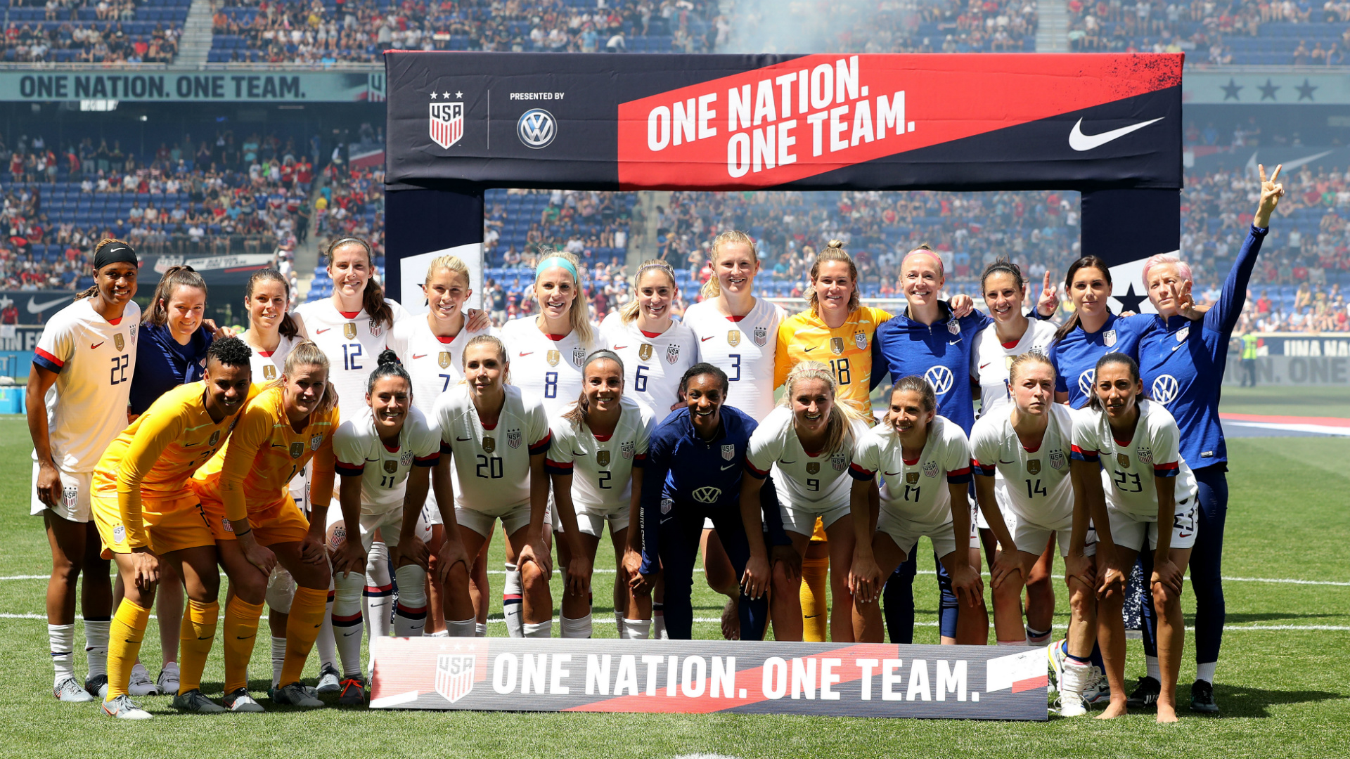 USWNT Team Photo 05262019
