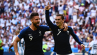 Antoine Griezmann Olivier Giroud France World Cup 2018