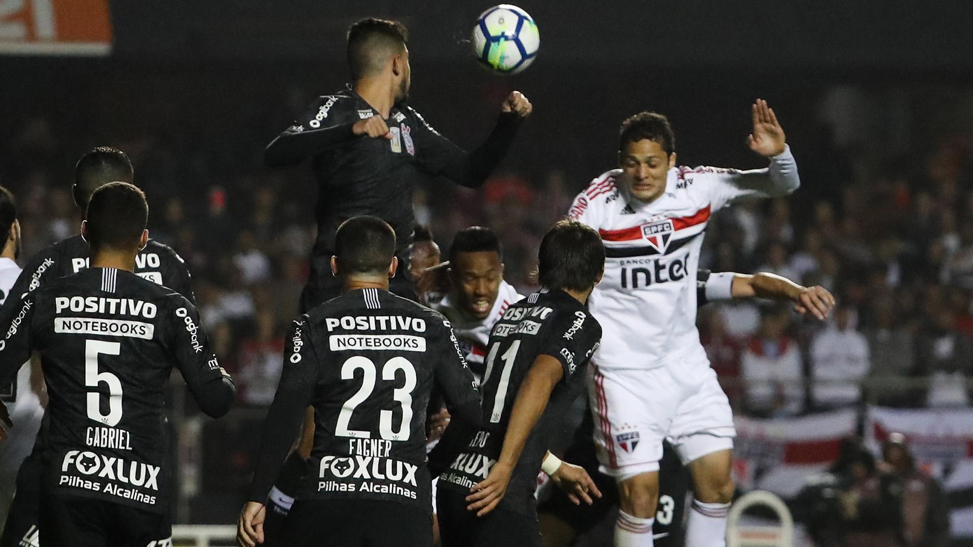 Anderson Martins Sao Paulo Corinthians Brasileirao Serie A 21072018