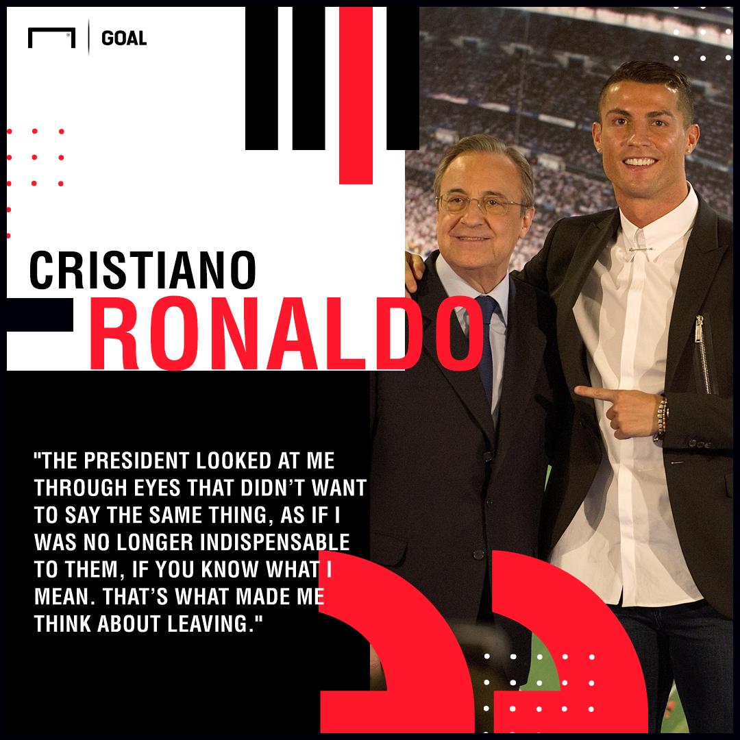 Cristiano Ronaldo Perez Real Madrid PS