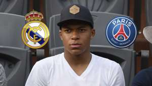 Kylian Mbappe Real Madrid PSG