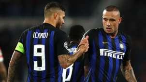 Mauro Icardi Radja Nainggolan - Inter